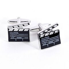 Bey-Berk Film Clapper Cuff Links