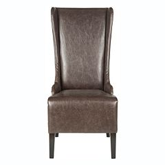 Safavieh Becall Brown Dining Chair