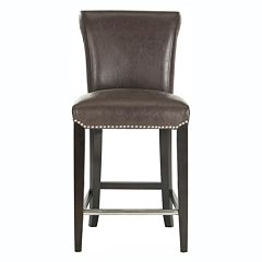 Safavieh Seth Faux-Leather Counter Stool