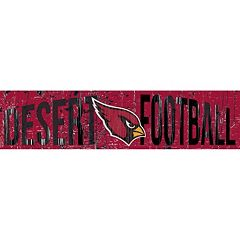 Arizona Cardinals 6' x 24' Slogan Wood Sign