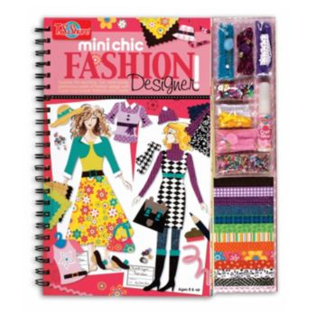 T.S. Shure Chic Fashion Designer Book and Design Kit