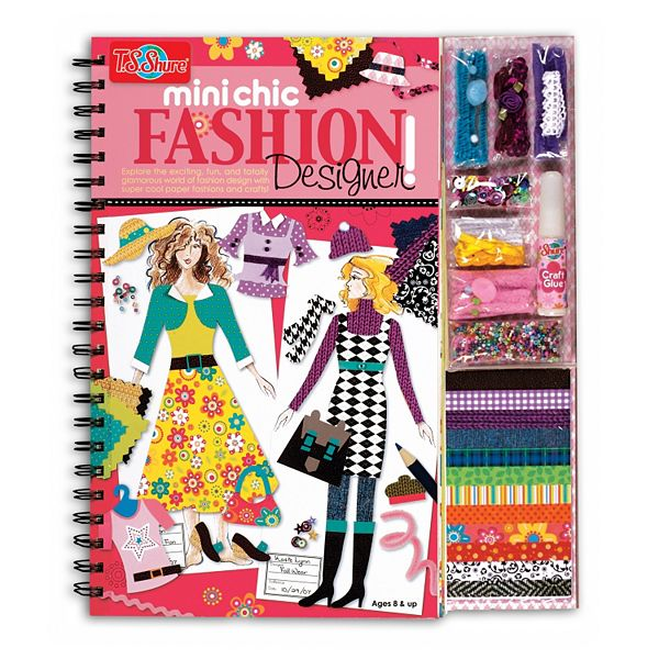 T S Shure Chic Fashion Designer Book Design Kit