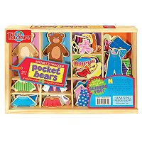 T.S. Shure Pocket Bears Wooden Magnetic Dress-Up Set