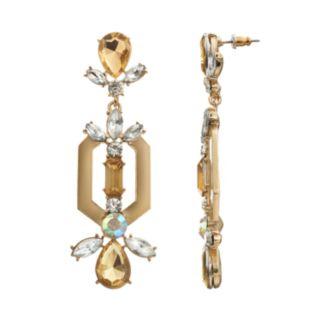 GS by gemma simone Nouveau Baroque Antoinette Drop Earrings