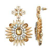 GS by gemma simone Nouvaeu Baroque Minuet Drop Earrings