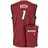 adidas Miami Heat Chris Bosh NBA Replica Jersey - Boys 8-20