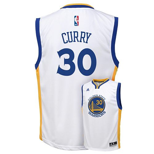 new concept 333be f9c27 Boys 8-20 adidas Golden State Warriors Stephen Curry NBA ...