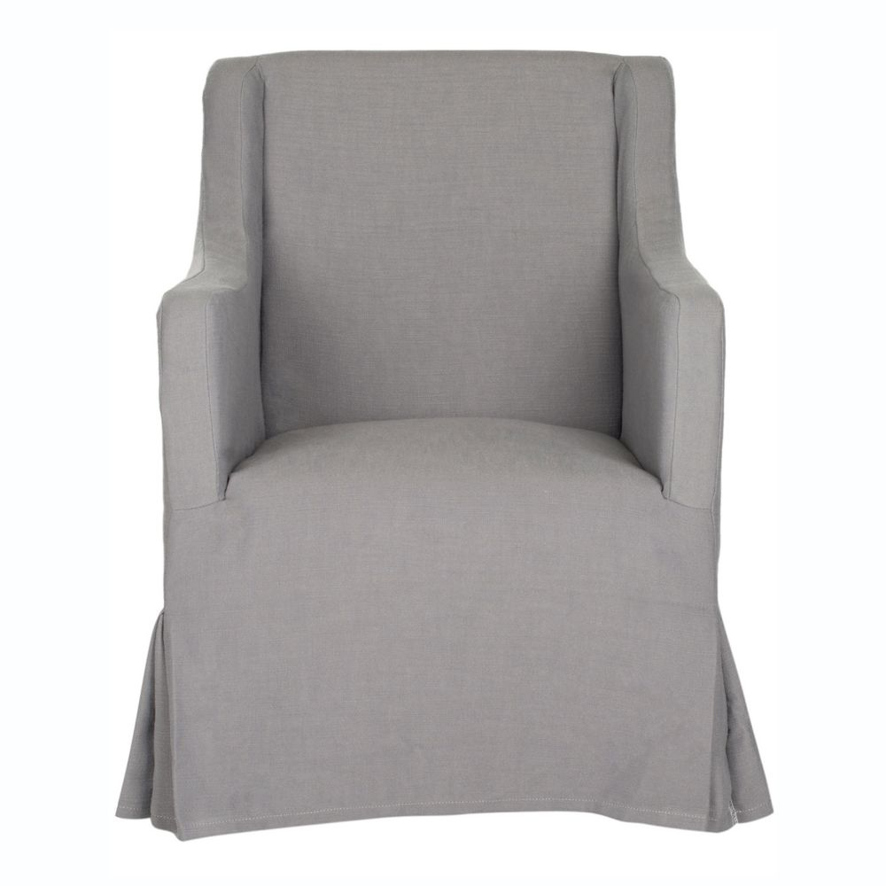 Safavieh sandra slipcover accent chair