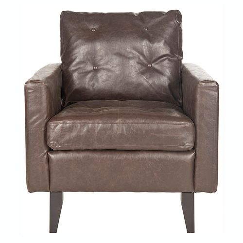 Safavieh Caleb Faux-Leather Club Chair