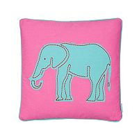 Swazi Elephant Throw Pillow