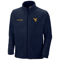 Men's Columbia West Virginia Mountaineers Flanker II Full-Zip Fleece