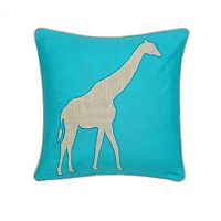 Windsong Giraffe Throw Pillow