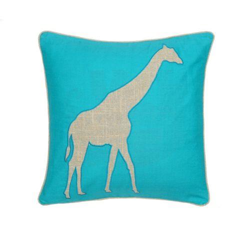 Windsong Giraffe Throw Pillow