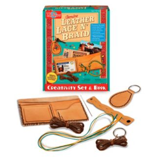 T.S. Shure Genuine Leather Lace N' Braid Creativity Set and Book