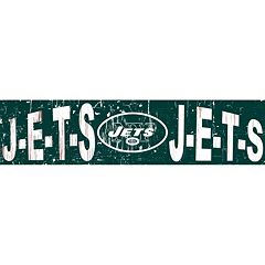 New York Jets 6' x 24' Slogan Wood Sign