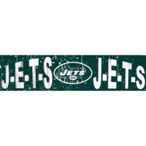 "New York Jets 6"" x 24"" Slogan Wood Sign"