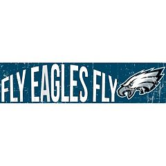 Philadelphia Eagles 6' x 24' Slogan Wood Sign
