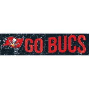 "Tampa Bay Buccaneers 6"" x 24"" Slogan Wood Sign"
