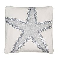 St. Bart Starfish Throw Pillow