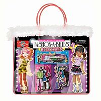 T.S. Shure Fashion-A-Belles Rockstar Wooden Magnetic Dress-Up Doll Set