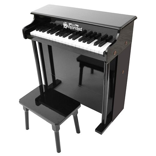 Schoenhut 37-Key Traditional Deluxe Spinet Toy Piano