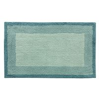 Bacova Double Frame Geometric Bath Rug - 21'' x 34''