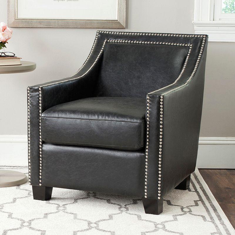 San Diego Chargers Club Seats: Cushioned Nailhead Trim Furniture
