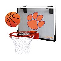 Clemson Tigers Game On Hoop Set