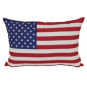 SONOMA outdoors™ American Flag Outdoor Throw Pillow