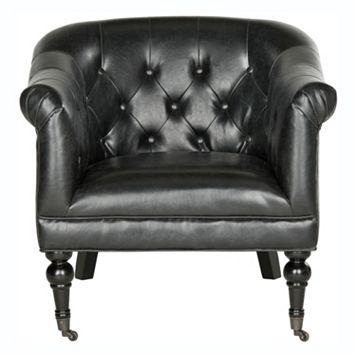 Safavieh Nicolas Faux-Leather Club Chair