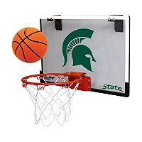 Michigan State Spartans Game On Hoop Set