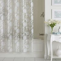 Excell Allegra PEVA Shower Curtain