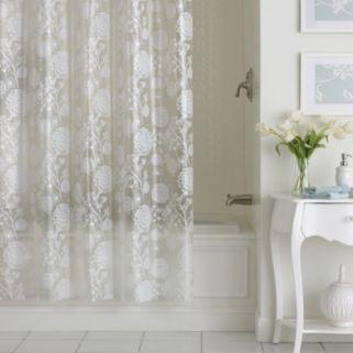Excell Allegra PEVA Shower Curtain