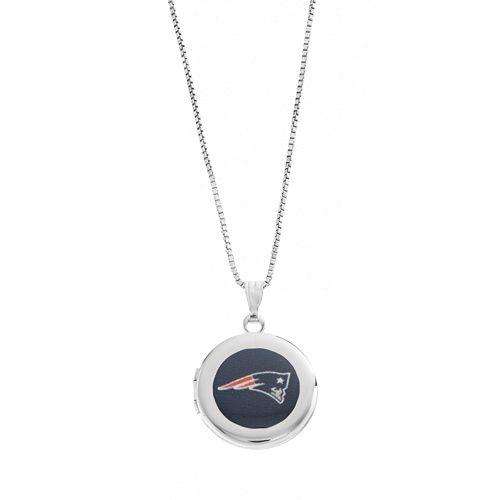 New England Patriots Sterling Silver Locket