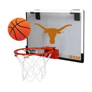 Texas Longhorns Game On Hoop Set