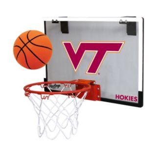 Virginia Tech Hokies Game On Hoop Set
