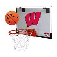 Wisconsin Badgers Game On Hoop Set