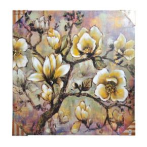 Bombay™ ''White Blossom'' Canvas Wall Art