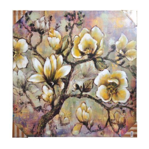 Bombay™ ''White Blossom'' Canvas Wall Art