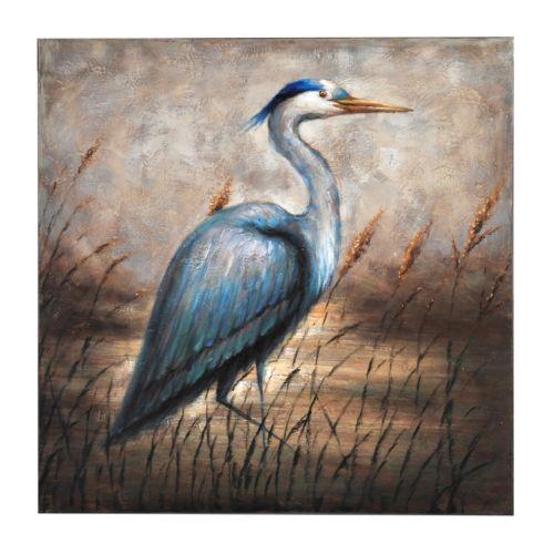 """Bombay™ """"Blue Egret"""" Canvas Wall Art"""