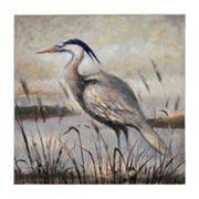 Bombay™ ''Gray Egret'' Canvas Wall Art