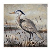 Bombay™ ''Gray Egret'' Canvas Wall Art