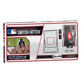 Franklin Sports MLB 55-in. 2-in-1 Switch Hitter Return Trainer