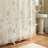 Excell Nature's Moments PEVA Shower Curtain