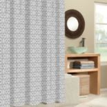 Excell Tiles Fabric Shower Curtain