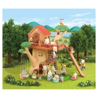 Calico Critters Adventure Treehouse Play Set