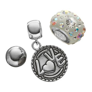Individuality Beads Crystal Sterling Silver Bead &