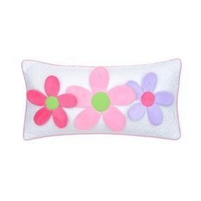 3D Floral Throw Pillow