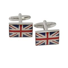 Bey-Berk Union Jack Cuff Links
