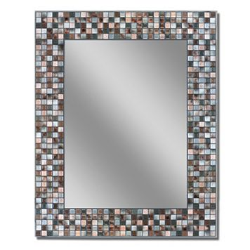 Head West Mosaic Wall Mirror